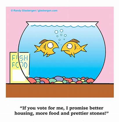 Cartoons Fish Glasbergen Government Animal Politics Political