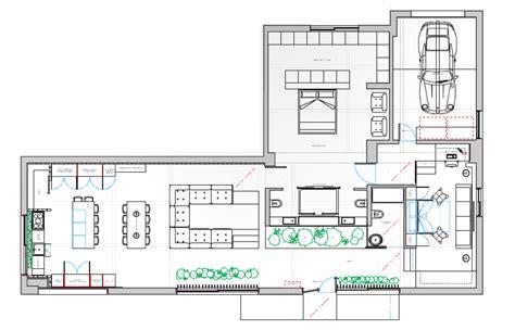 canapé modulaire plan du loft