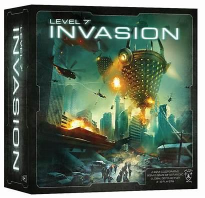 Invasion Level Board Games Alien Strategy Warlike