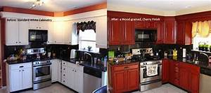 professional cabinet refinishing cabinet painting faux With best brand of paint for kitchen cabinets with katie daisy wall art