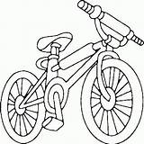 Coloring Bike Dirt Pages Printable sketch template