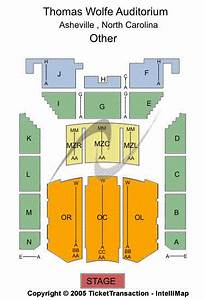Thomas Wolfe Auditorium Seating Chart Thomas Wolfe