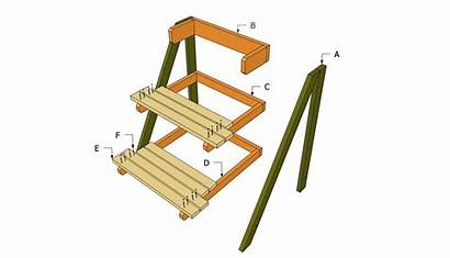 Plant Stand Plans Outdoor Wooden Woodworking Diy