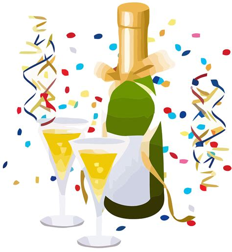Image result for bing clip art free champagne