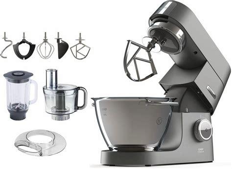 Kenwood Küchenmaschine Chef Titanium Kvc7411s, 1500 W, 4,6 L Schüssel, Inkl. Zubehör Im Wert Von