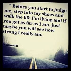 Don't judge quote | So cute | Pinterest