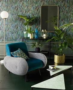 Fauteuil Bleu Canard : fauteuils et canap s en velours s lection c t maison ~ Teatrodelosmanantiales.com Idées de Décoration