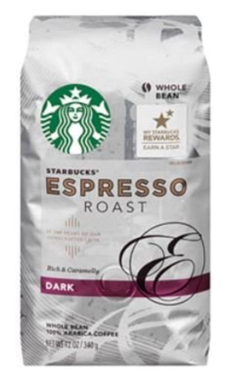 These beans have been taken to within an inch of their life in the starbucks roaster. (2 Pack) Starbucks® Dark Espresso Roast Whole Bean Coffee, 12 oz - Get The Best Coffee Beans!