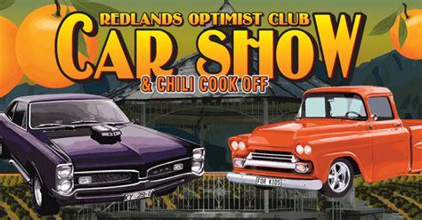 Redlands Optimist Club » 2015 REDLANDS OPTIMISTS CAR SHOW