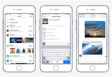 messenger for iphone messenger for ios gains dropbox support