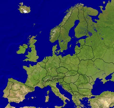 Európa térkép 1