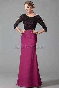 robe de soiree longue simple avec manches en dentelle With robe simple avec dentelle