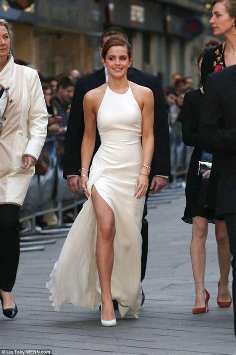 Emma Watson Goes Make Free She Strides Through The