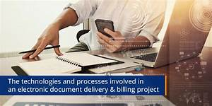 The underlying technologies of electronic document for Electronic document delivery service