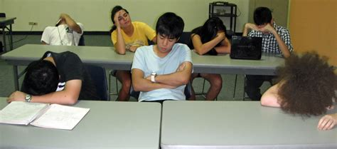Sleeping in Class     The Acronym   IMSA s Official Student Newspaper  Sleeping Student In Class
