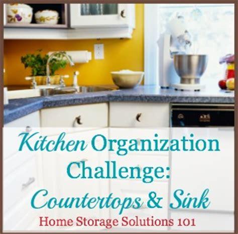 kitchen countertop storage solutions kitchen organization step by step guide 4313