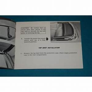 Original 1961 Cadillac Convertible Folding Top Operation