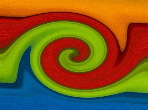 orange rot gruen blau  hintergrundbild