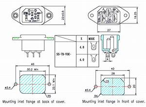 Z Iecgm Ronnex - Iec Panel Connectors  Ac Power