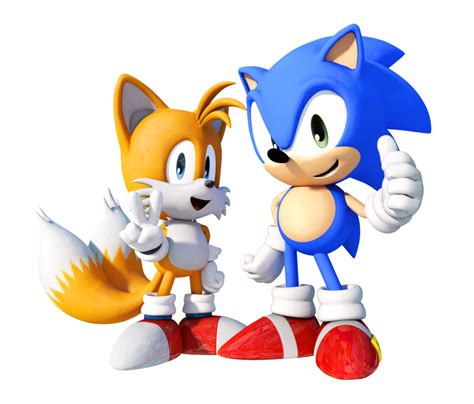 Classic Sonic Tails and Knuckles