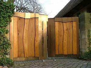Gartenzaun Mit Tor : hoftor holz metall ein traum von zaun garden zaun ~ Frokenaadalensverden.com Haus und Dekorationen
