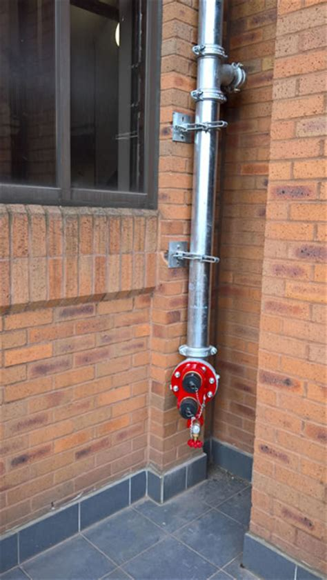 externally mounted dry riser installed  peterborough