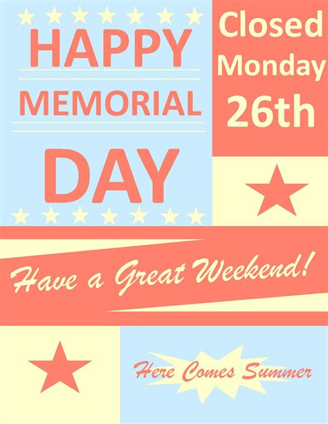memorial day closed sign template 404 page not found