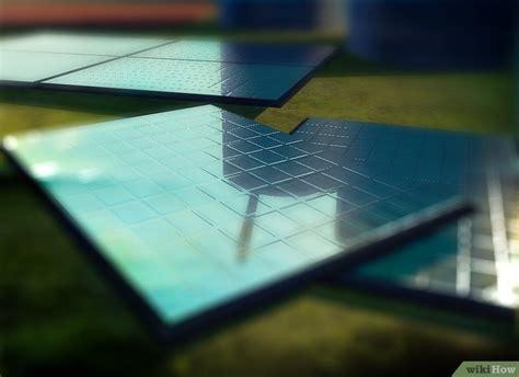 solarpanel selber bauen ein solarpanel selber bauen wikihow