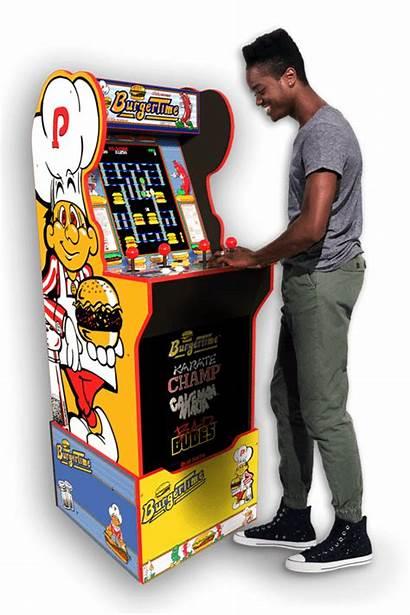 Arcade 1up Burgertime Cabinet Arcade1up Nostalgia Burger