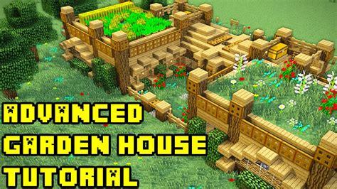 Garden Tutorial by Minecraft Garden Mansion Tutorial How To Build