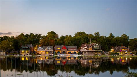 Boathouse Row by Boathouse Row Visit Philadelphia