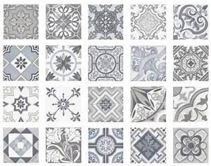 Faience Carreaux De Ciment : carrelage sol et mur imitation carreau ciment ~ Premium-room.com Idées de Décoration