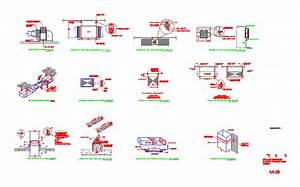 General Details Of Facilities DWG Plan for AutoCAD
