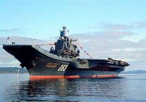 Russia's Only Aircraft Carrier Just Went up in Flames ...