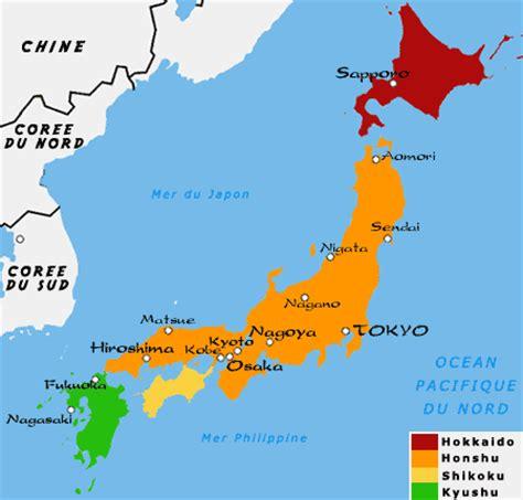 Carte Du Monde Japon by Connaissance Japon Le Japon Le De Chikako