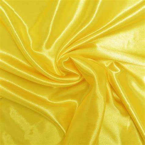 yellow sateen fancy dress fabric closs hamblin