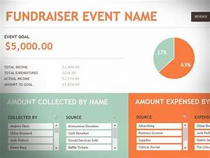 Free fundraising event template for excel 2013 for Fundraising presentation template