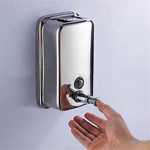 Geek4lesses Bathroom Wall Mounted Stainless Steel Manual