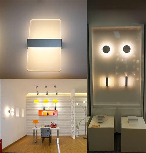 buy simple fashion aluminum led wall light living room