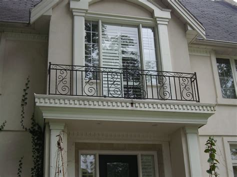 Widows Porch by Exteriors Fancy French Style Balcony Railings Fence