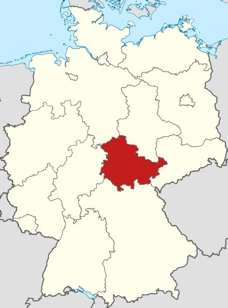 File:Locator map Thuringia in Germany.svg - Wikimedia Commons