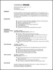 apartment leasing manager resume free traditional apartment leasing consultant resume template resumenow