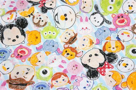 Disney Licensed Fabric Disney Character Disney Tsum Tsum