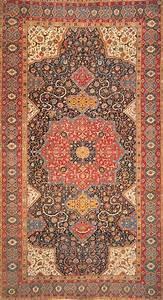 The, Rothschild, Tabriz, Medallion, Carpet, Is, A, Safavid, Carpet