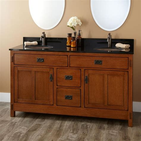 Mission Style Bathroom Vanity - 25 best ideas about craftsman bathroom on
