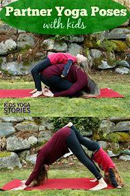 Easy Partner Yoga Poses Kids