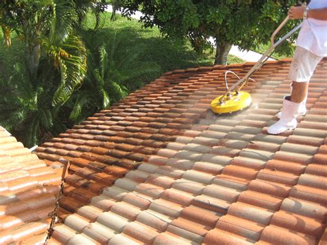 roof tile how to clean tile roof