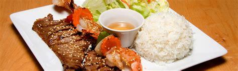 plats avec riz restaurant soleil d 39 asie cuisine