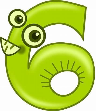 Number Animals Clipart Kablam Clip Six