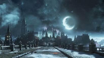 4k 5k Dark Bridge Souls Moon During